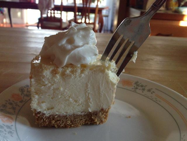 holey moses cheesecake at northville farms