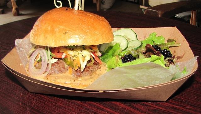 grass fed beef burger garden of eve organic farm and market