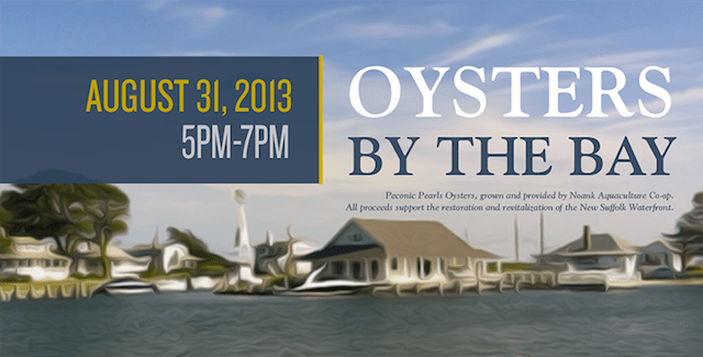 new suffolk waterfront oysters by the bay