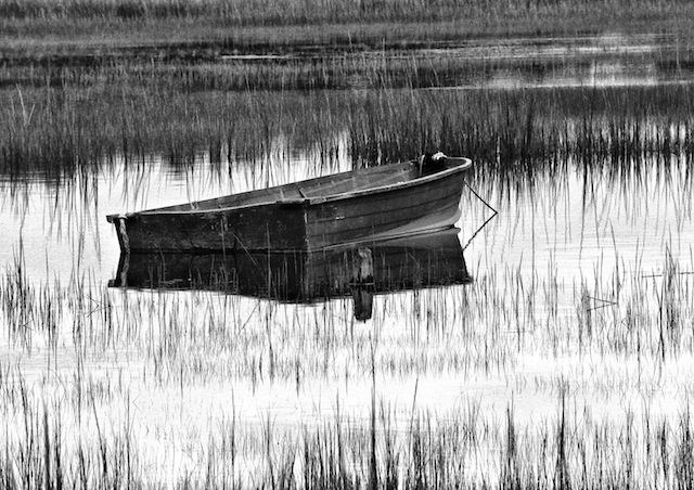 """""""New Suffolk Rowboat"""" is featured in a new book of photographs by Steve Berger."""