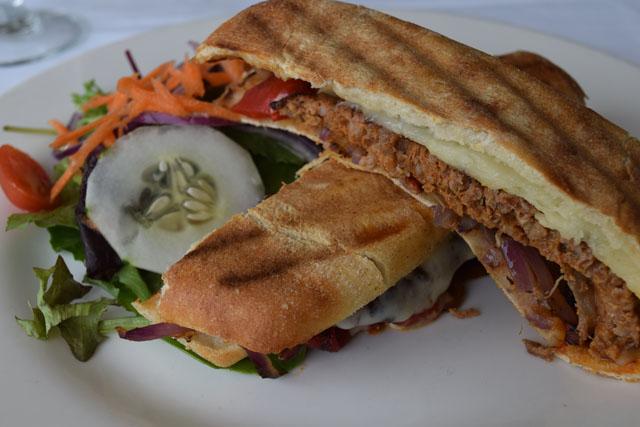 Pepi's chorizo panini
