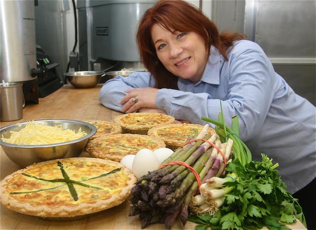 Nancy Kouris quiche