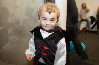 Two-year-old Mason Seckeler of Manorville as Dracula.