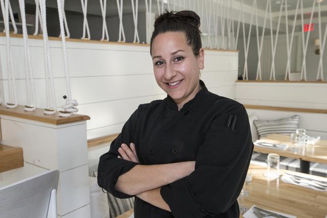 Arielle Ferrara, chef at American Beech in Greenport