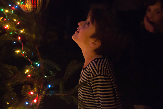 Southold Historical Society tree lighting
