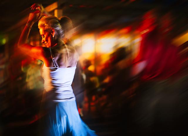 Estefany Molina Dances in the Park