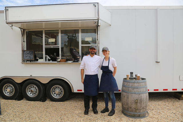Chefs Jonathan and Carly Copeland