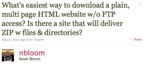 Tweet Download Website