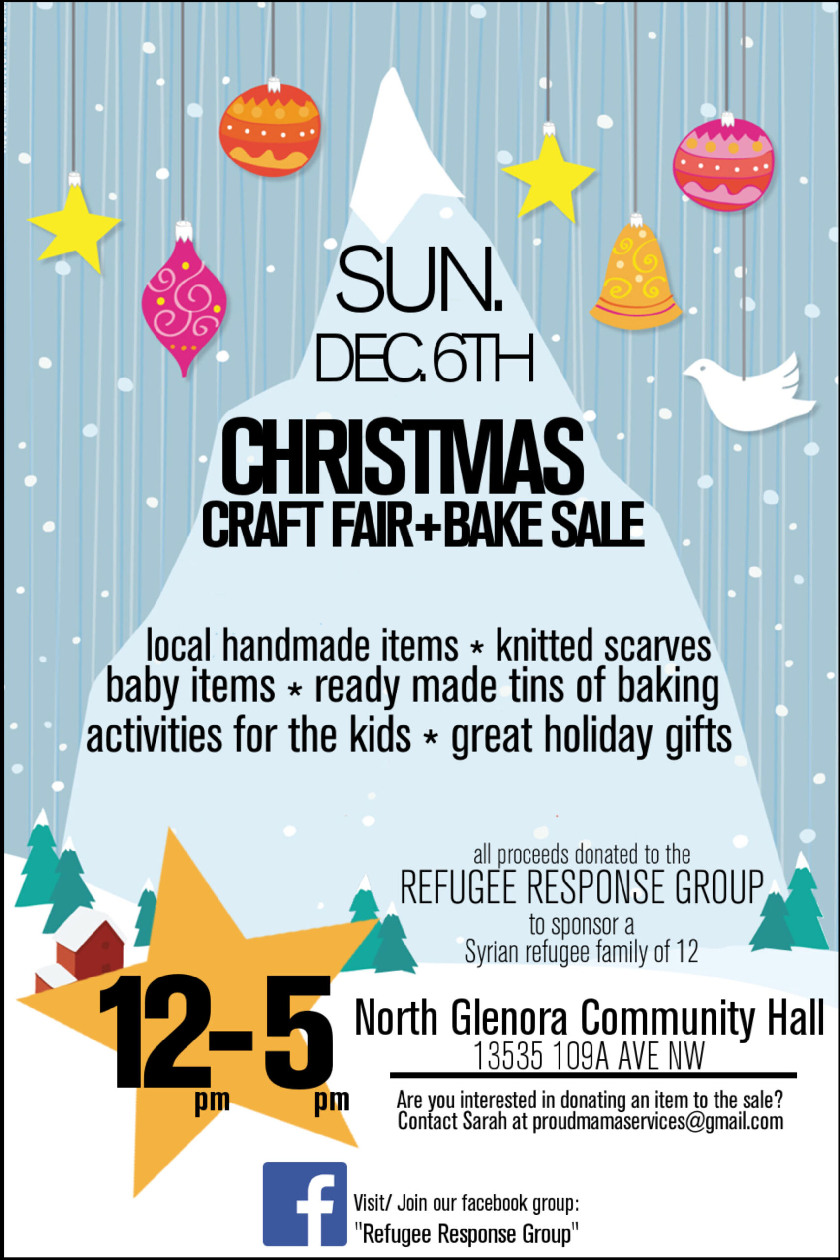 Microsoft Word Rrg Craft Fair And Bake Sale Poster Docx North