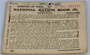 Fig III National Ration Book