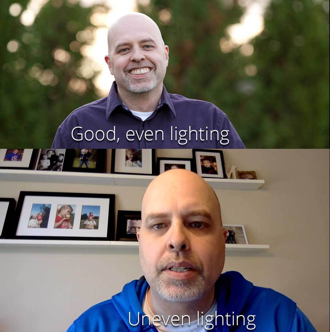 Lighting Differences