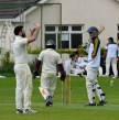 NV, the new skipper, tries to get his fielders placed in where they should be...