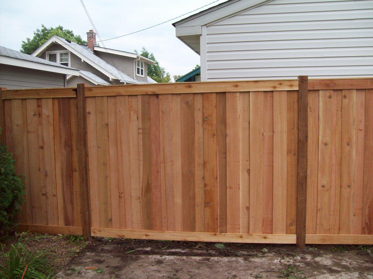 Cedar Fence Company Minneapolis Mn Cedar Privacy Fence Minneapolis Mn Northland Fence Minneapolis Mn