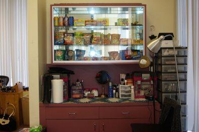 Salon Snack Area