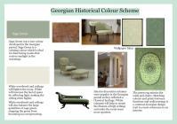 Diploma Assignment: Georgian Colour Scheme