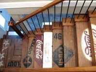 Recycled stairs - http://pinterest.com/pin/349310514817916569/