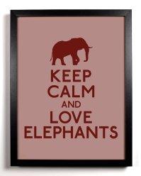 Poster - http://www.etsy.com/listing/82007620/keep-calm-and-love-elephants-elephant-8?ref=sr_gallery_30&ga_search_query=elephant&ga_view_type=gallery&ga_ship_to=US&ga_ref=auto3&ga_explicit_scope=1&ga_search_type=handmade