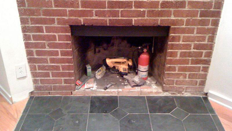 The Right Way to Clean a Fireplace Surround