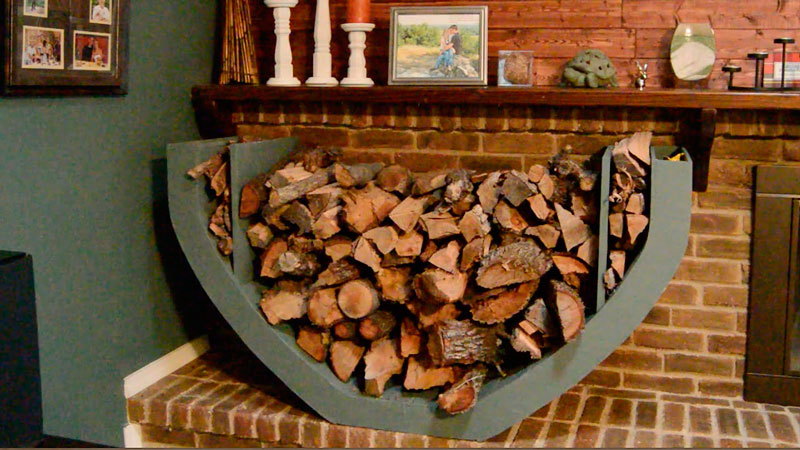 Why to choose the Hearth Rack With Tools from WoodEze