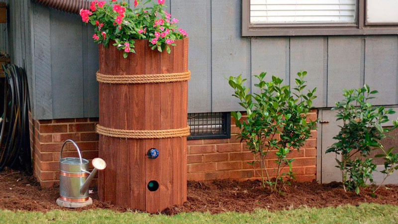 Acquire a Rain Barrel