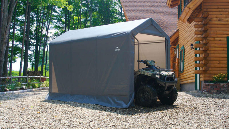 ... Way During The Winter Months And Then When The Weather Gets Warmer Move  The Portable Garage Or Carport To A More Convenient Place For Just For  Shelter.
