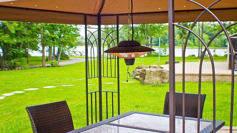 Take the Chill Off with a Patio Heater