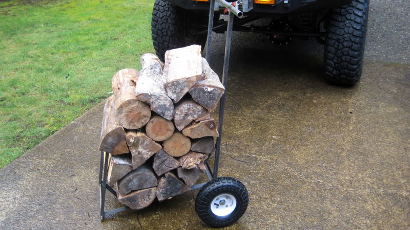 WoodEze Firewood Cart