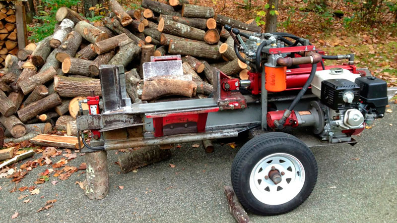 How big of a Log Splitter will you need