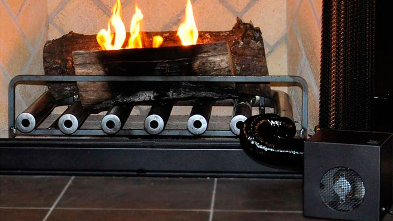 spitfire fireplace heater with blower unit 6 tube unit. spitfire fireplace heater - improve your efficiency with blower unit 6 tube