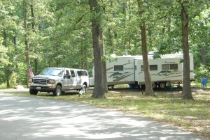 Burns Park Campground, North Little Rock, Arkansas