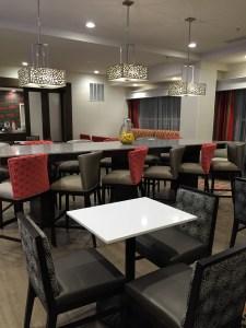 Lounge at Hampton Inn North Little Rock, Arkansas