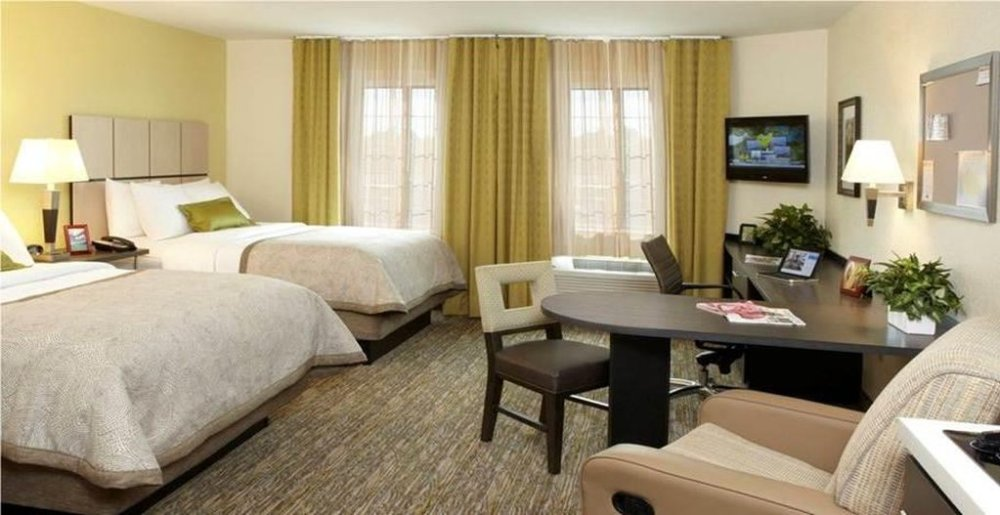 Candlewood Suites North Little Rock Arkansas double