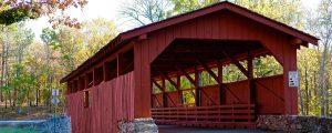 Burns Park Covered Bridge, North Little Rock, Arkansas