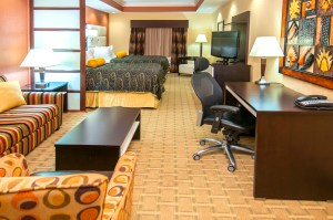 Best Western JFK North Little Rock, Arkansas double suite
