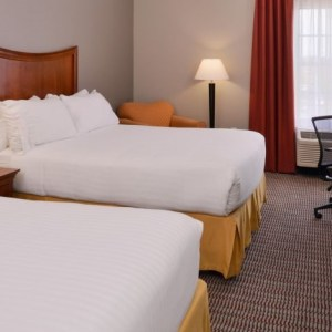 Holiday Inn Express and Suites North Little Rock Arkansas double