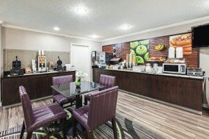 LaQuinta Inn and Suites North Little Rock, Arkansas, breakfast
