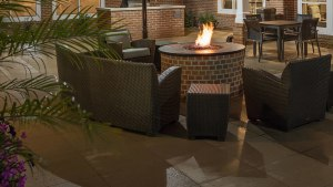 Residence Inn Marriott North Little Rock Arkansas patio