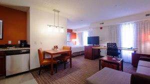 Residence Inn Marriott North Little Rock, Arkansas, suite
