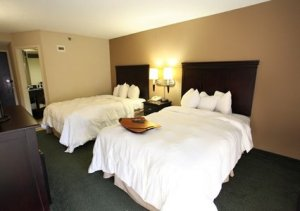 Quality Inn and Suites North Little Rock Arkansas - double