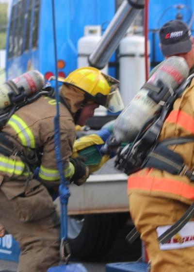 North Little Rock Scott Firefighter Challenge