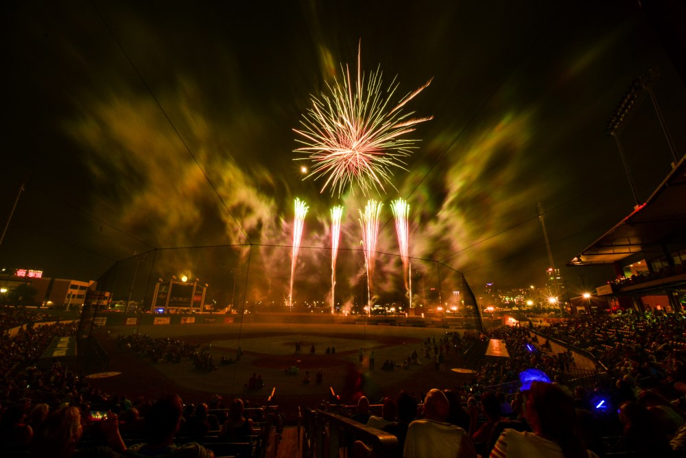 Pyro in the Park 2018