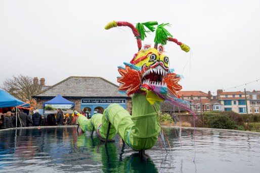chinese dragon in North Lodge Park