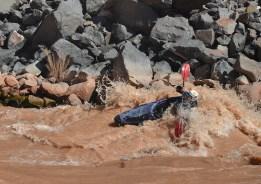 Red Water Canoeist