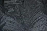 Frost pattern on a car bonnet