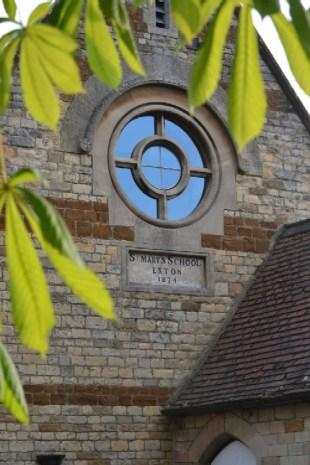 St Marys School Round Window