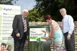 North Luffenham has become the first village in Rutland to benefit from the Digital Rutland project
