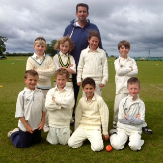 Under 9 Cricket Team July 2013