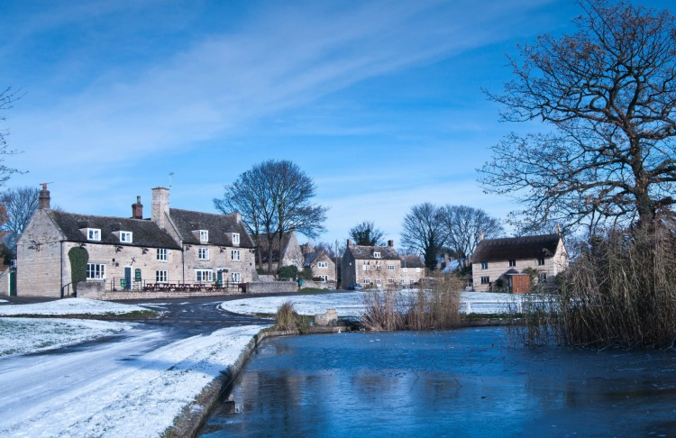 """This photo was taken by Sonia Kendal for the January entry in the """"Around Our Village"""" 2014 Calendar produced by the North Luffenham Camera Club."""