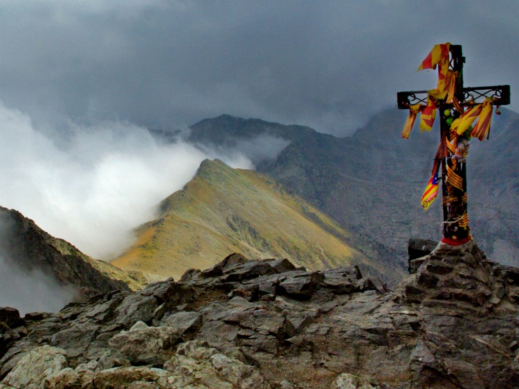 Crete in the Pyrenees - photo by Sue Churchill