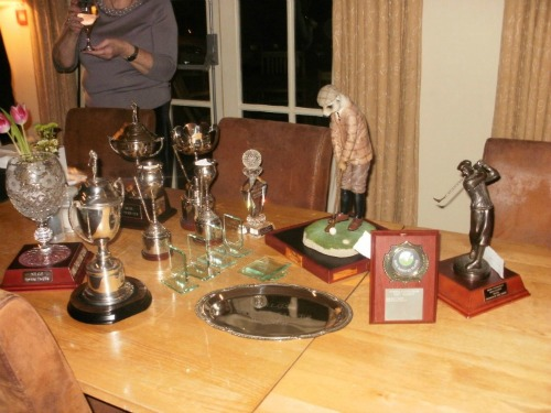 Golf Society Trophies